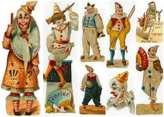 vintage circus   ... SELECCION DE IMAGENES VINTAGE PARA SCRAPBOOK. ESPERO LAS DISFRUTEN