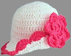 Check out this item in my Etsy shop https://www.etsy.com/uk/listing/281733250/hand-crocheted-baby-girl-hat-newborn-0-3