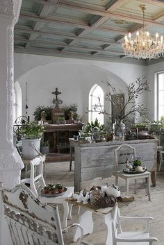 Philanthropic described diy shabby chic home decor find Shabby Chic Kitchen, Vintage Shabby Chic, Shabby Chic Homes, Shabby Chic Style, Shabby Chic Decor, French Country Style, Country Chic, Country Life, Country Farmhouse