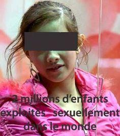 Résultat d'images pour enfants esclavage sexuel