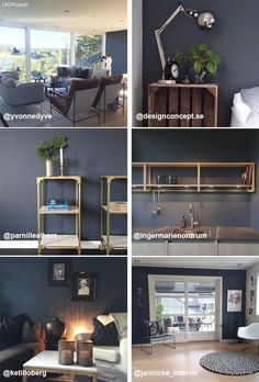 Norges favorittfarge Deco Blue, Norway, Favorite Color, Colours, Wallpaper, Lady, Interior, Indoor, Wallpapers