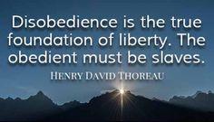 The True Foundation of Freedom by Henry David Thoreau