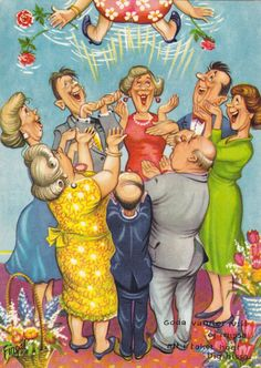 Happy Birthday Joaniedear and many returns! Funny Old People, Old Age Humor, Birthday Clips, First Birthday Pictures, Birthday Images, Craft Images, Elsa Beskow, Paint Cards, Face Expressions