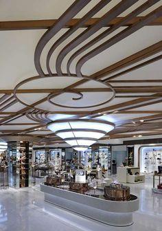 Harrods Shoe Salon. Can you say shoe heaven? Click to go inside... South Kensington & Knightsbridge, London, England
