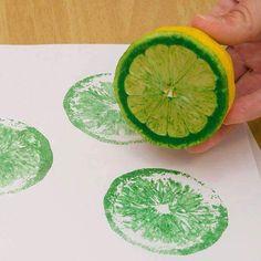 Arte con limones