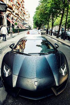 Mean Lamborghini Aventador