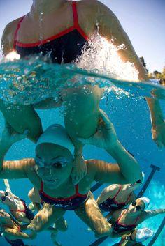 USA synchronize swimming