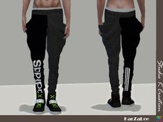 Giruto 52 baggy pants by Studio K-Creation for The Sims 4