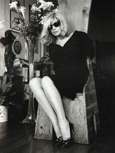 Monica Vitti by Helmut Newton, 1986