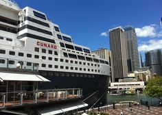 Cunard: Queen Mary 2 cruise liner - Sydney, Australia 2013. (picture by: Eastside Travel)