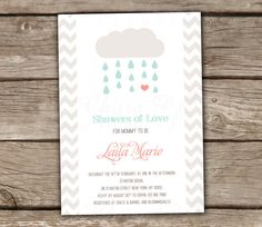 Baby Shower Invitations Printed or Printable Showers by chitrap