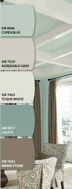 Agreeable Gray- Colour would be great for the living room.