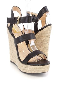 b530917417e Prom Shoes · Platforms · These adorable and stylish platform espadrille  wedges are a must have this season! The features