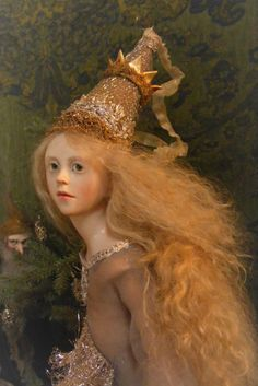 Anna BRAHMS A Shimmer of Silver Moonlight One of a Kind Sculpture ART DOLL