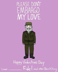 ben kling-card-zupi-5 fidel castro embargo love valentine
