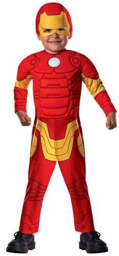 Avengers Assemble Iron Man Toddler Boy Costume
