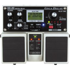 Boss DD20 Giga Delay... I love the Line 6 DL4, but the ability to dial in a delay tempo rather than waiting for a click to tap it in would be wonderful.