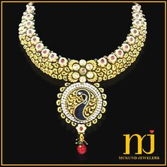 Peacock theme costume jewellery now available at Mukund Jewellers.!