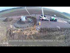 Wylewanie Fundamentów pod Elektrownie Wiatrowe - YouTube