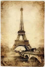 Resultado de imagen para tarjetas vintage de arte frances