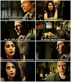 """#Shadowhunters 2x11 """"Mea Maxima Culpa"""" - Izzy and Sebastian"""