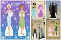 The motherlode of free printable paper dolls for pop culture junkies