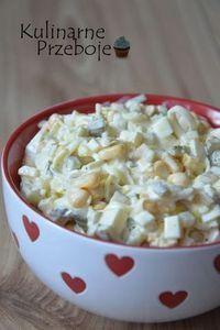 Sałatka z pora – po prostu mniam! Takie połączenie smaków smakuje rewelacyjnie jako sałatka sama w sobie lub np. jako dodatek do obiadu – mimo, że w swoim składzie ma jajko :) Poza tym myślę, że równie świetnie sprawdzi się na świątecznym, wielkanocnym stole, chociaż do Wielkanocy jeszcze daleko :D Więcej przepisów na smaczne sałatki […] I Love Food, Good Food, Yummy Food, Tasty, Vegetarian Recipes, Cooking Recipes, Healthy Recipes, Appetizer Salads, Appetizer Recipes