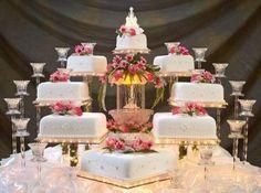 pasteles de boda separados - Buscar con Google