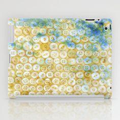 Buttons ©, digital art iPad Case by JUSTART - $60.00