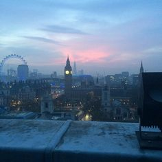 I really want to visit London in the winter