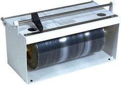 """Bulman Products A55012 12 in. Food Wrap Dispenser by Bulman Products. $117.38. Great Gift Idea.. Manufactured to the Highest Quality Available.. Design is stylish and innovative. Satisfaction Ensured.. 12"""" Food Wrap Dispenser For Up To 7 1/2"""" Diameter Rolls Of Cling Film. White Powder Coat Finish Counter Mount Only. Save 26% Off!"""