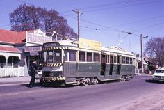 Ballarat No 43, was previously Geelong No 40, transferred in 1956. Donated to Newtown council by the SEC in 1971 and displayed (in the open in a wire enclosure) in Queens Park. Donated to TMSV in 1987 and transferred to Bylands. In poor condition.