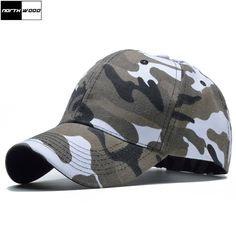 Buy 2017 Snow Camo Baseball Cap Men Tactical Cap Camouflage Snapback Hat  For Men High Quality Bone Masculino Dad Hat Trucker 82400bfeb666