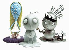 Tim Burton Tragic Toys Stain Boy PVC Set - Dark Horse - Tim Burton - Action Figures at Entertainment Earth