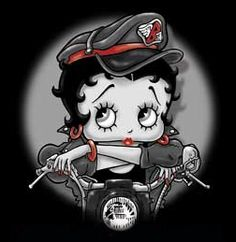 Biker Betty Boop pictures