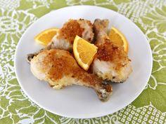 Joan Nathan's Honey Orange Chicken