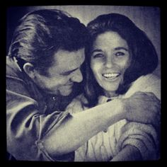 """This morning having coffee with her."" Johnny Cash's reply when asked for his definition of paradise."