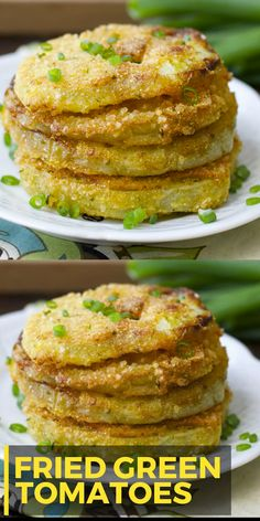 Tomatoes Fried Green Tomatoes and how to freeze them! These ultra crispy and totally delicious tomatoes are a Southern classic!Fried Green Tomatoes and how to freeze them! These ultra crispy and totally delicious tomatoes are a Southern classic! Side Dish Recipes, Vegetable Recipes, Veggie Food, Green Tomato Recipes, Fried Green Tomatoes Recipe Healthy, Fried Tomatoes, Southern Cooking Recipes, Cooking Tips, Keto