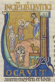 Leviticus cum glossa ordinaria Source: gallica.bnf.fr Bibliothèque nationale de France, Département des manuscrits, Latin 184, fol. 2v.