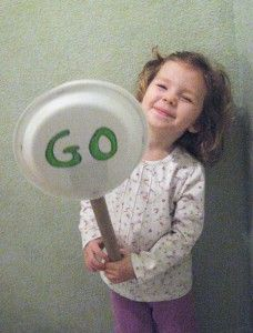 Stop and Go: The Perfect Rainy Day Preschool Activity - Kids Activities Blog