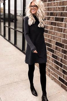 aaab7831c Sweater Dress with Leggings