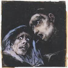 francisco goya, black paintings