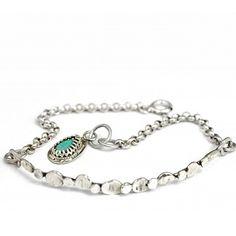 Bransoletka z turkusem Turquoise Bracelet, Bracelets, Jewelry, Fashion, Bangles, Jewellery Making, Moda, Arm Bracelets, Jewelery