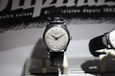 1950's Vintage Alpina 4 by Alpina Watches exhibited at Tourneau Time Machine | Flickr - Photo Sharing!