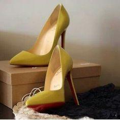 Louboutin#yellow#
