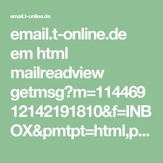 Great  Wohnen und Garten Foto email t online de em html mailreadview getmsg m ud uf ud