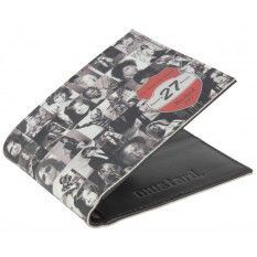 Musicians Printed Wallet - Black/White