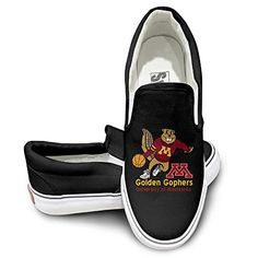 WG Custom Cool Sport Shoes University Of Minnesota Golden Gophers Gophs Sporting Black ** Be sure to check out this awesome product.
