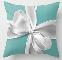 This item is unavailable | Etsy - #Etsy #Item #tiffanybluebedroom #unavailable - Designer Inspired Tiffany Bow Pillow on Etsy, $30.00 LOVE THIS!