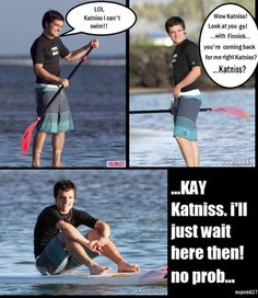 So THAT'S what Peeta was thinking in the arena. Lol